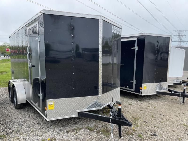 7 X 14 Haulmark Passport Enclosed Cargo Trailer WITH EXTRA HEIGHT