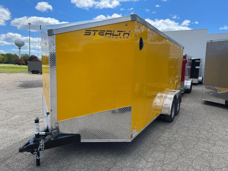7x16 STEALTH ENCLOSED w/ Ramp Door