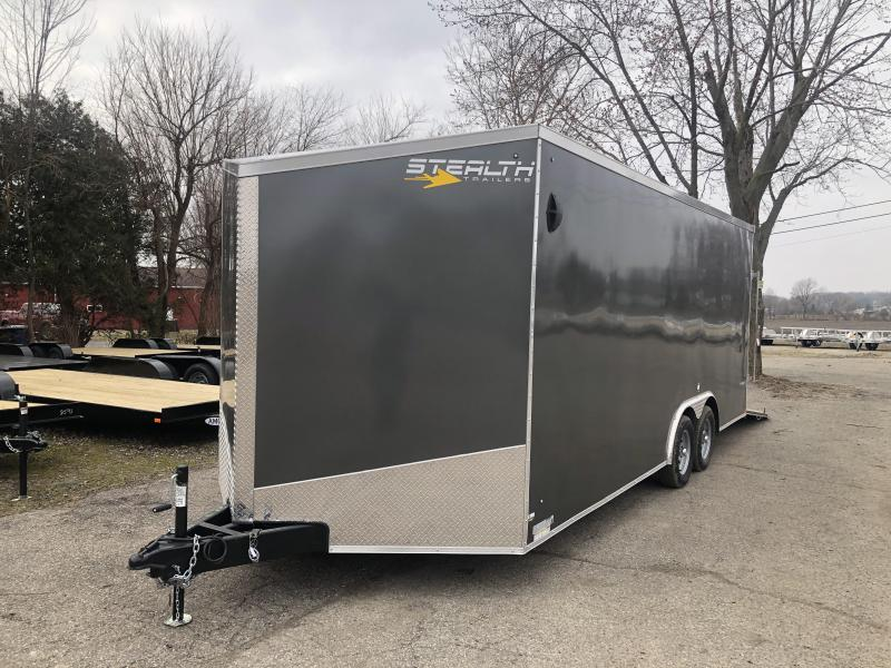 2021 Stealth Trailers Titan 8.5 x 20 7ft interior Enclosed Cargo Trailer