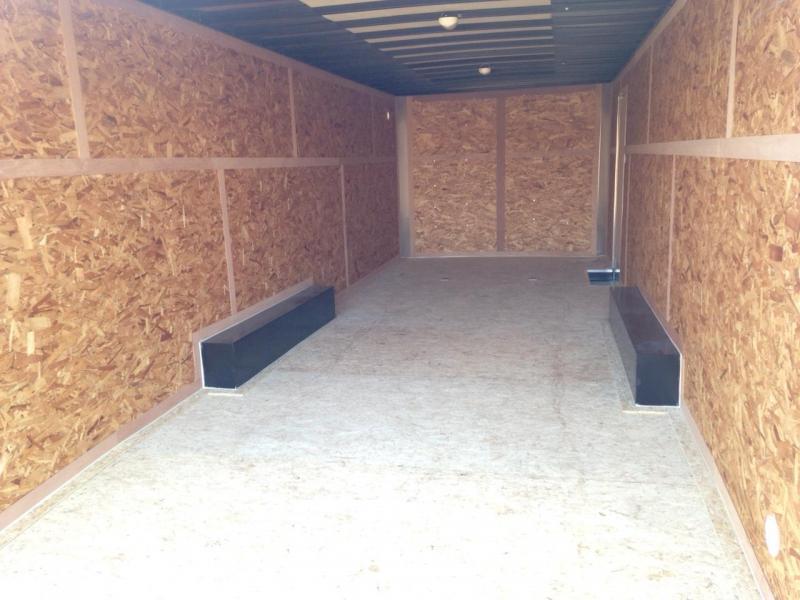 8.5x24 LOOK Enclosed Car Hauler Trailer (7K)