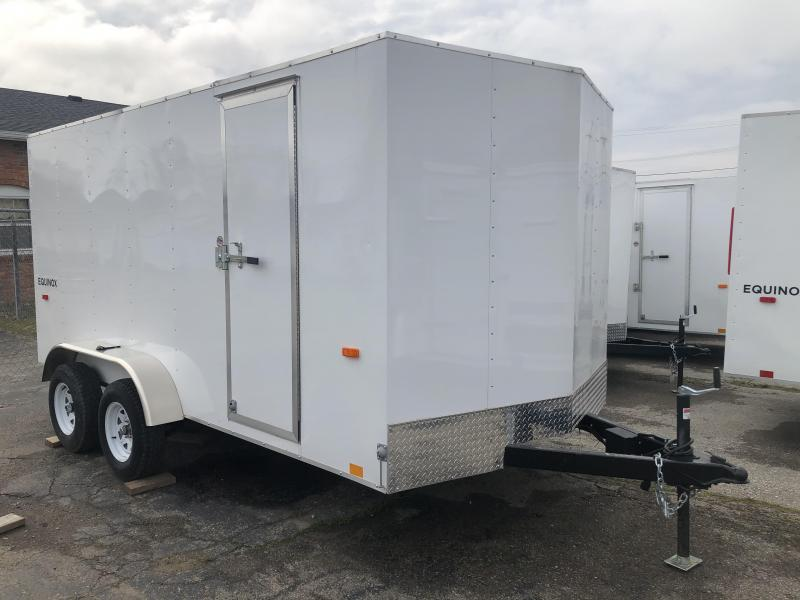 2020 Look Trailers 7 x 14 Equinox Enclosed Trailer Barn Doors