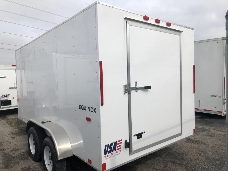 2020 Look Trailers 7 x 14 Equinox Enclosed Trailer Barn Doors