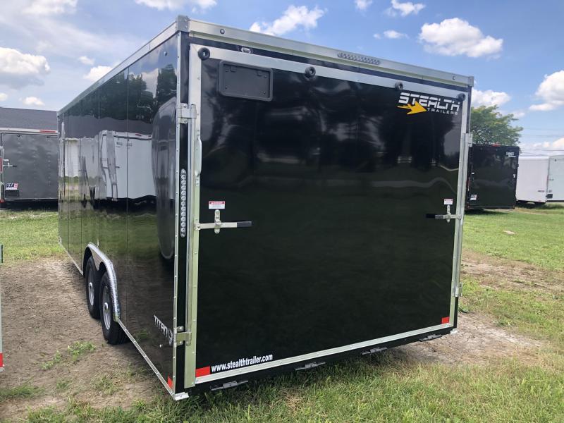 2021 Stealth Trailer 85 X 20 Titan 10 K Enclosed Cargo Trailer