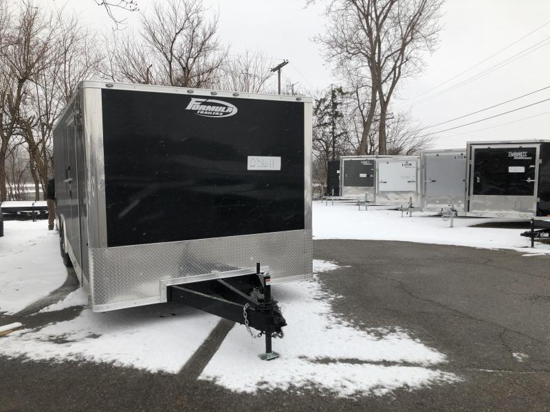 2021 Formula Trailers 8.5 X 24 Formula Conquest Enclosed Cargo Trailer