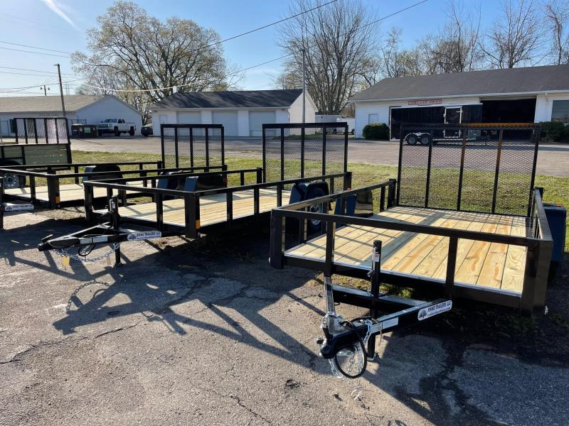 6 x 12 RHINO Low Side Landscape Trailer ( Tube Frame )