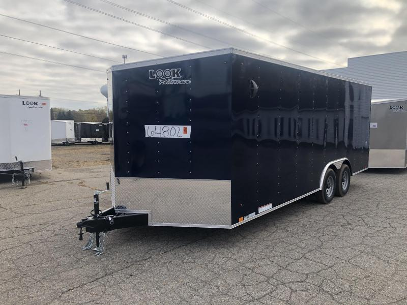 2021 LOOK DLX 8.5 x 20ft Enclosed Car Hauler 10K