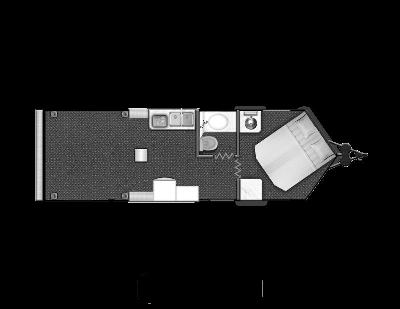 Toy Hauler w/ Living Quarters:8.5 X 30 STEALTH NOMAD 14K Enclosed Car Trailer QB Model