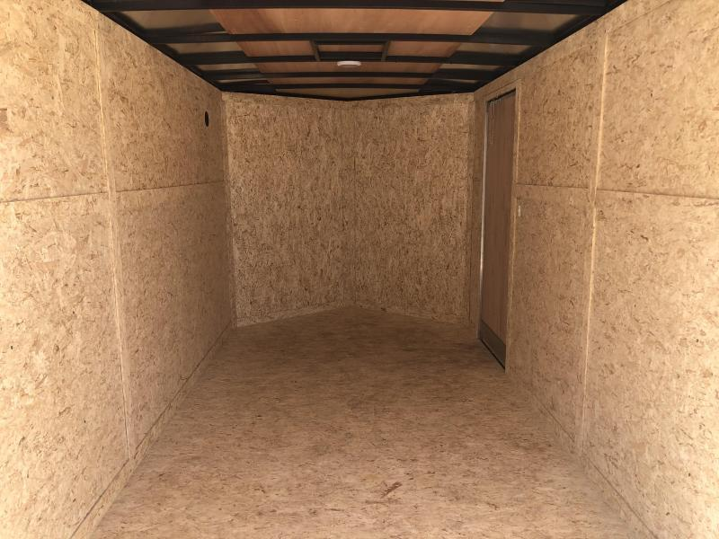 7 x 14  Rhino Safari - Enclosed Trailer - w/ Ramp Door Extra Height