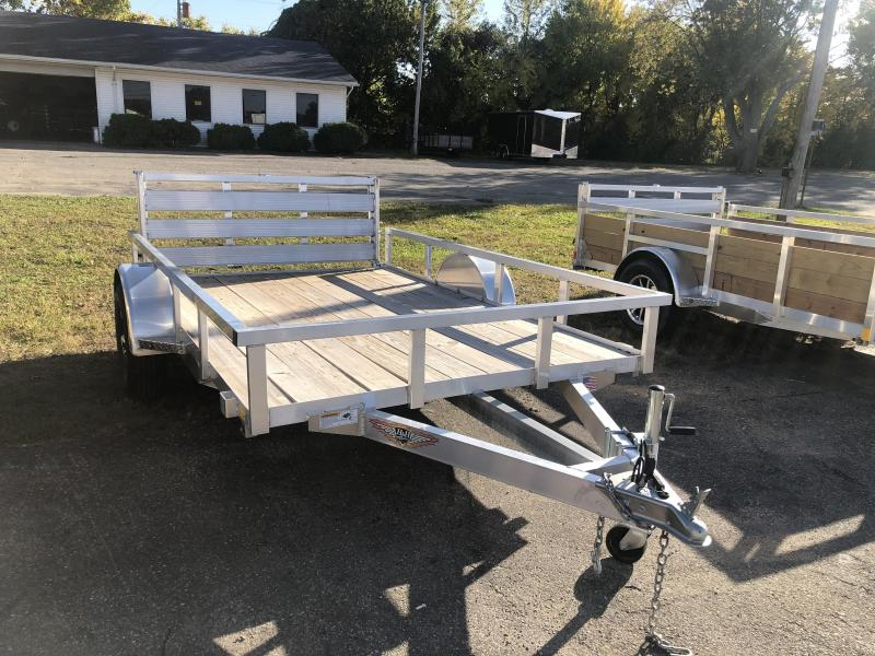 2020 76 x 10  H and H Trailer H&H Aluminum Landscape Utility Trailer
