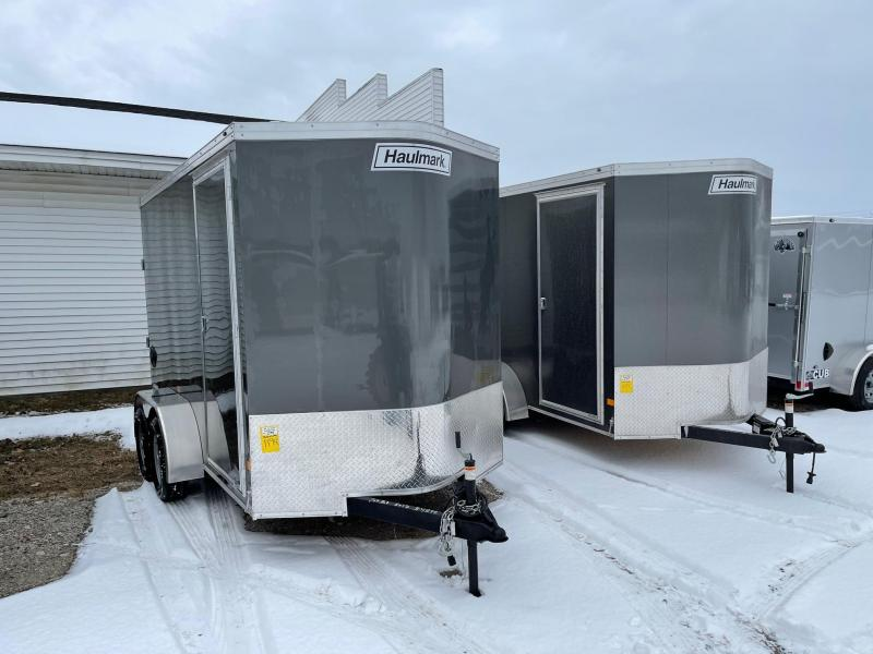 6 x 12 7k Tandem Haulmark Transport Ramp Door w/ 7ft Interior Height