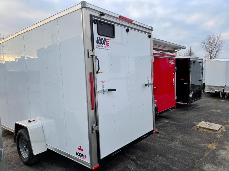 6x14 MTI - Enclosed Trailer - w/ Ramp Door with 6ft 6in Interior