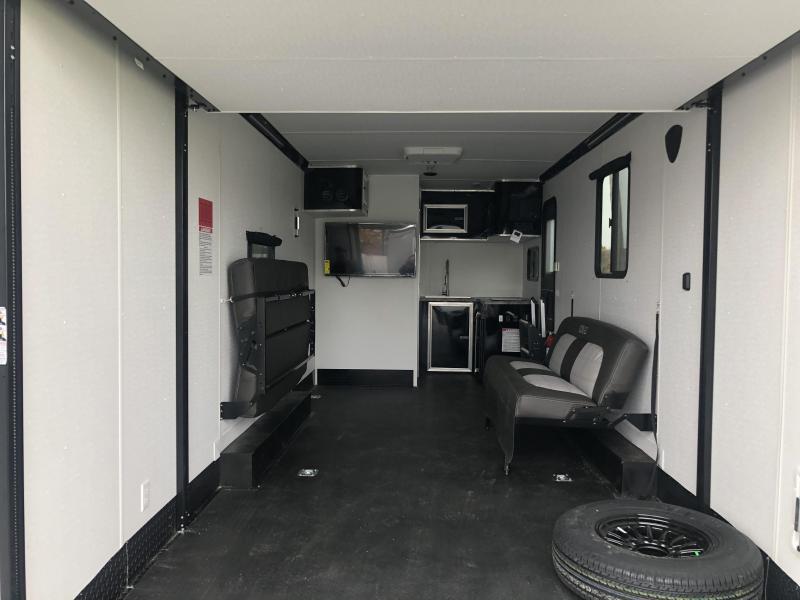 Toy Hauler w/ Living Quarters: STEALTH NOMAD 12K Enclosed Car Trailer