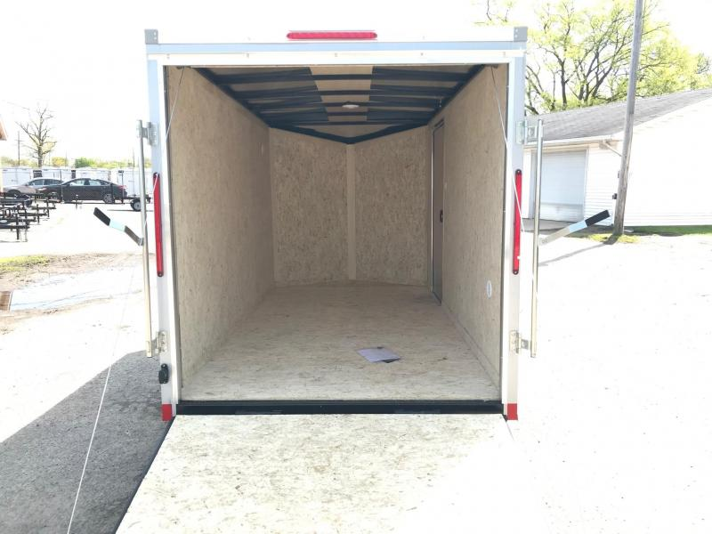 6x14 LOOK DLX w/ Ramp Door