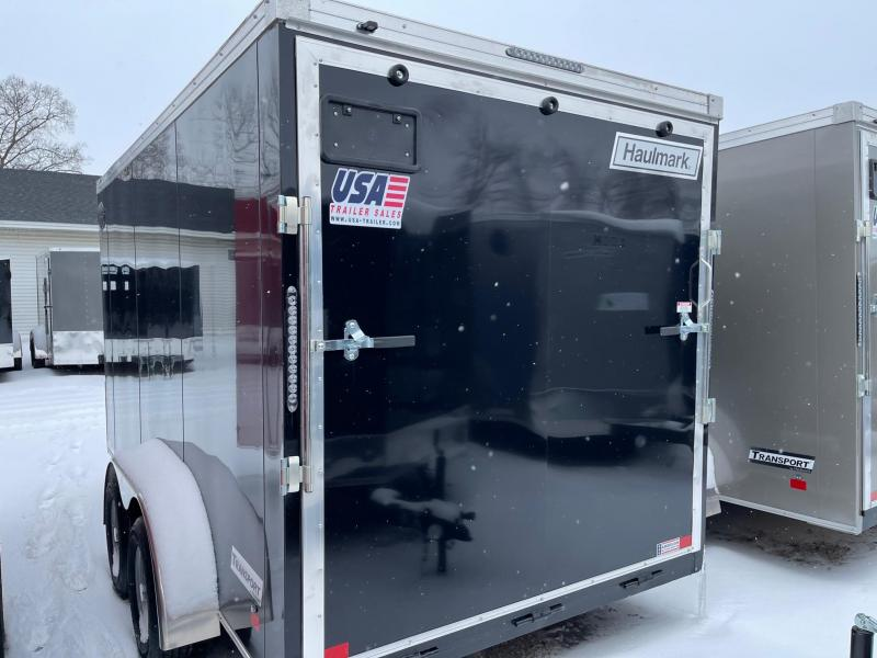 7 x 14  Haulmark Transport - Enclosed Trailer - w/ Ramp Door   7ft Interior UTV Package