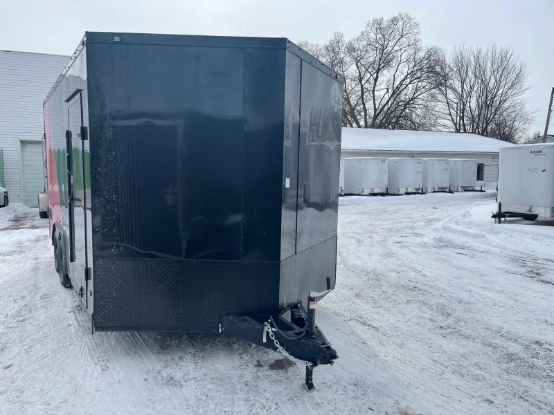 2021  85X16 MTI   7 K Enclosed Cargo Trailer with Extra Height