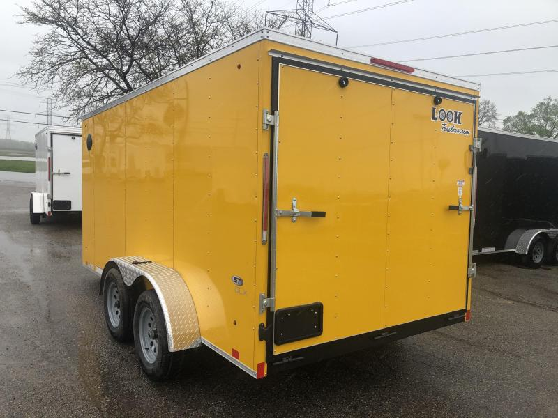 2021 Look Trailers 7x14 DLX Enclosed Cargo Trailer