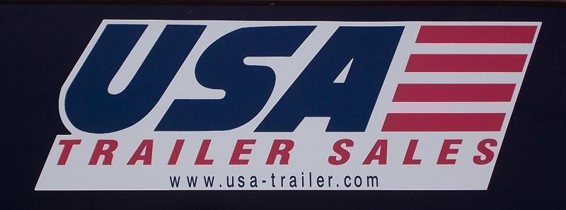 7 x 16  Rhino Safari - Enclosed Trailer - w/ Barn  Doors Extra Height