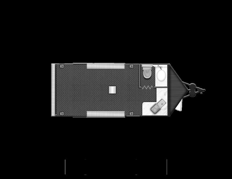 Toy Hauler w/ Living Quarters:8.5 x 24 STEALTH NOMAD 12K Enclosed Car Trailer FK Model