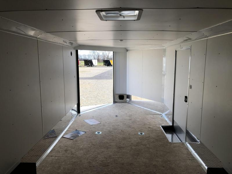 2021 85 X 29 LOOK VISION 10K Enclosed Cargo COMBO Trailer