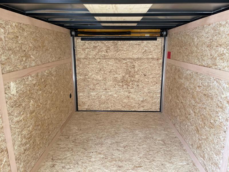 7x16 STEALTH ENCLOSED w/ Ramp Door