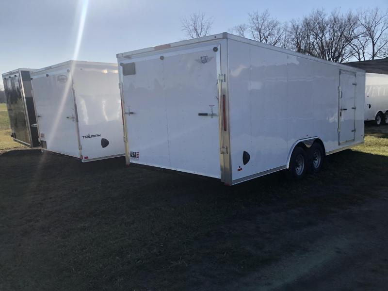 2021  85X24 MTI   10K Enclosed Cargo Trailer with Extra Height