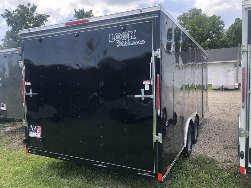 2021 Look Trailers 85X18 DLX 7K Enclosed Cargo Trailer