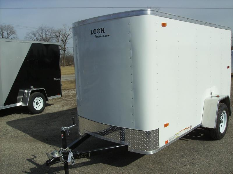 5x10 LOOK Enclosed Trailer w/ Ramp Door