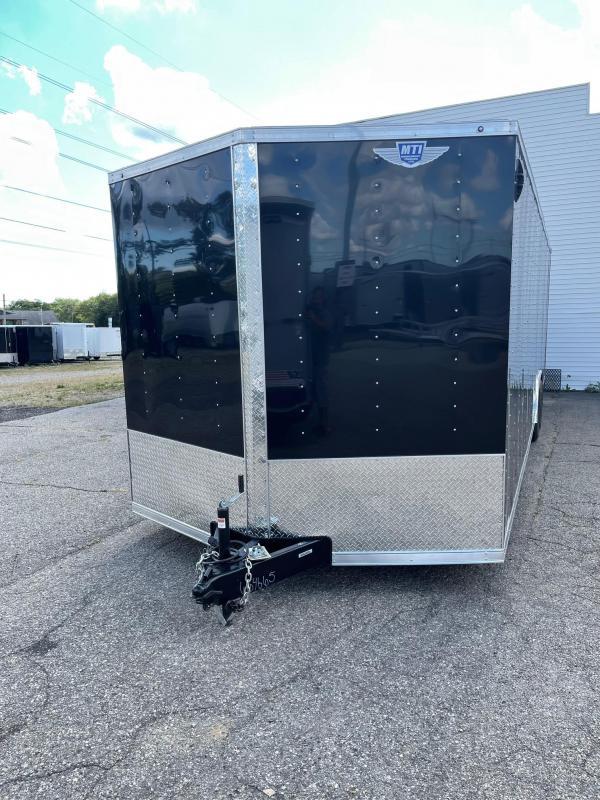 8.5x28 Enclosed Car Hauler - 7ft Interior - 10K