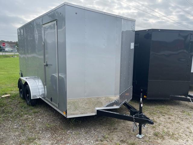 7 x 14 Formula Traverse  Enclosed Trailer - w/ Ramp Door   7ft Interior