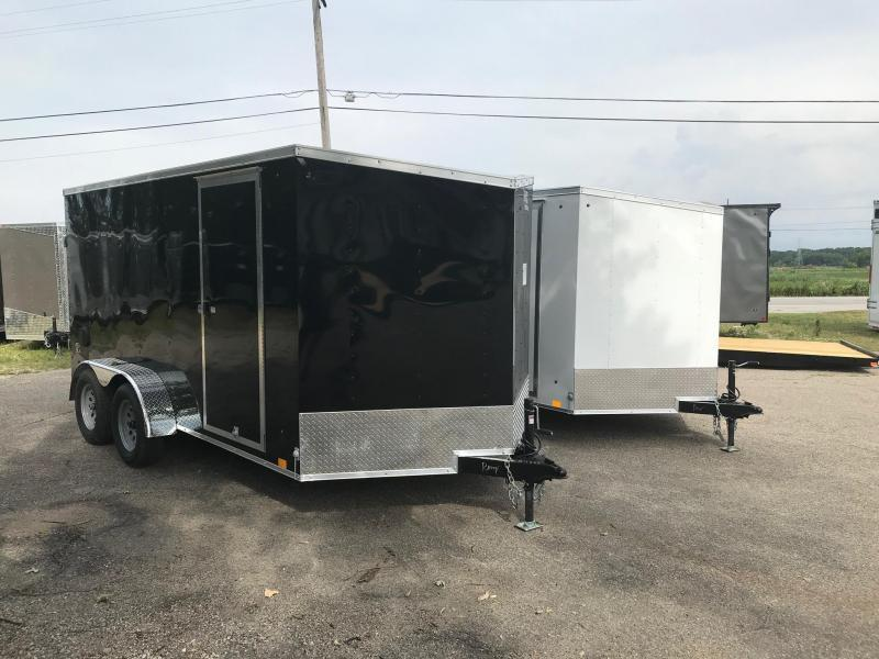 7x12 LOOK DLX w/ Ramp Door