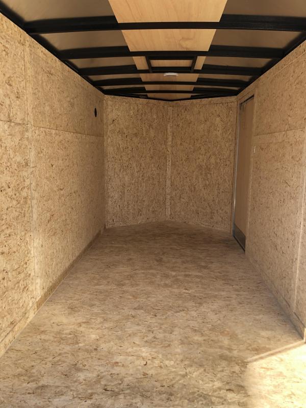 6x12 Rhino ( CUB ( - Enclosed Trailer - w/ Ramp Door