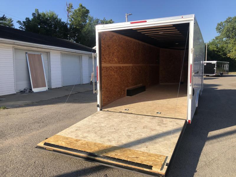 8.5x24 LOOK Enclosed Car Hauler Trailer (10K) Extra Height