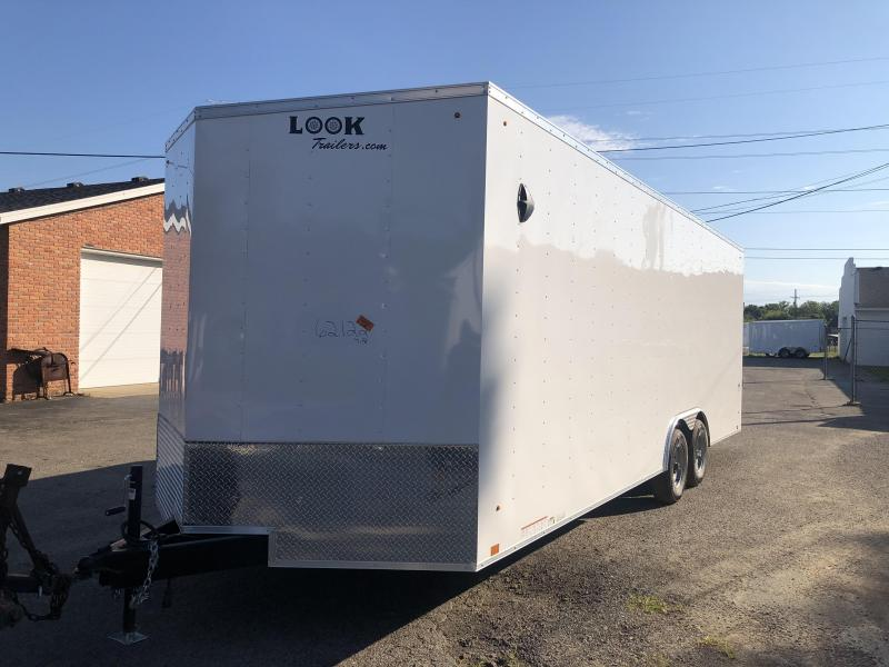 8.5x24 LOOK Enclosed Car Hauler Trailer (10K) Extra Height