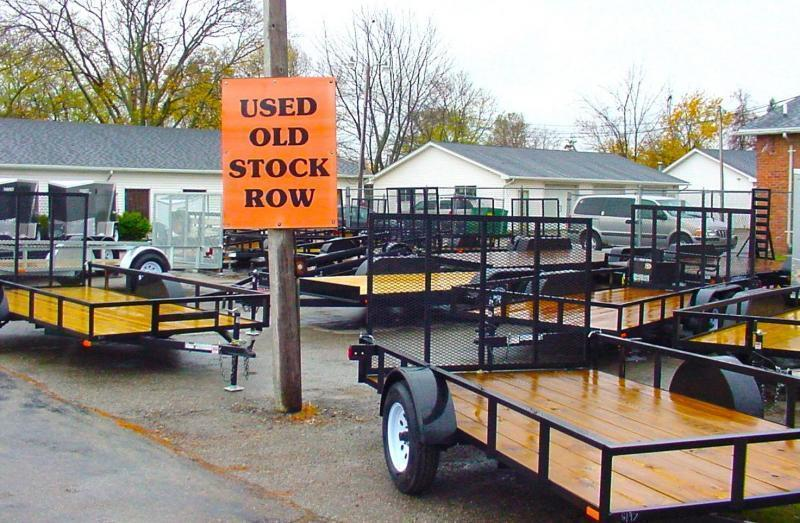 6.4 X 12 Landscape Utility Trailer With Ramp Gate - WHILE SUPPLIES LAST