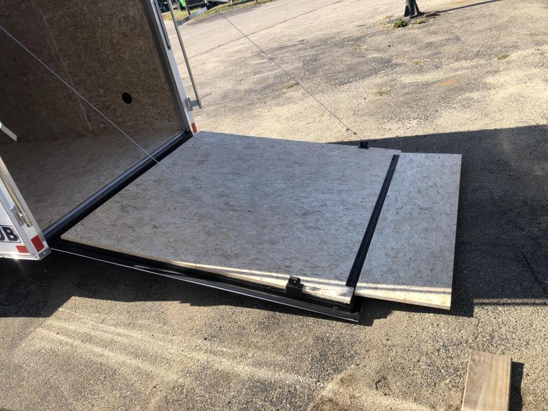 6x10 Rhino ( CUB ( - Enclosed Trailer - w/ Ramp Door
