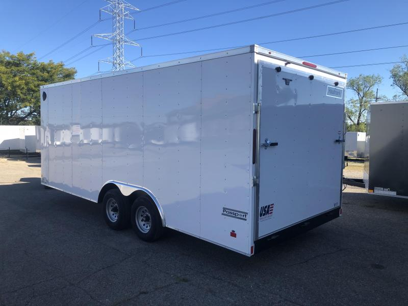 2021 8.5 x 20 Haulmark TRANSPORT 10K Enclosed Cargo Trailer Extra Height