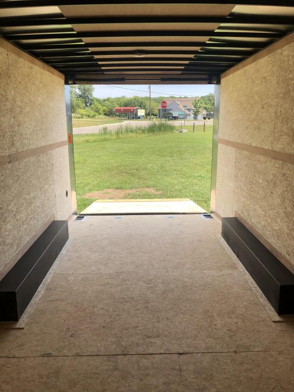 2021 Look Trailers 85X24 DLX 10K Enclosed Cargo Trailer