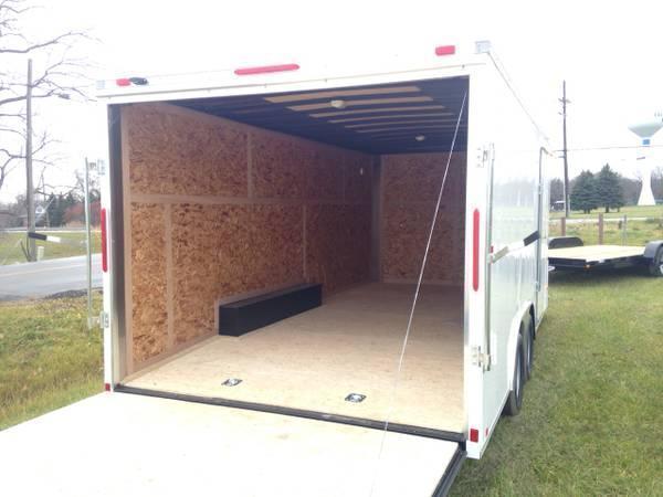 8.5x16 LOOK Enclosed Car Hauler Trailer