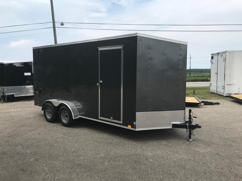 "7x14 LOOK DLX - 12"" additional height - w/ Ramp Door"