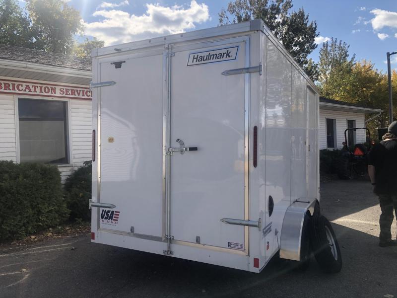 DEMO - 7x14 10K Haulmark Transport Barn Doors - Transport Package 7ft Interior