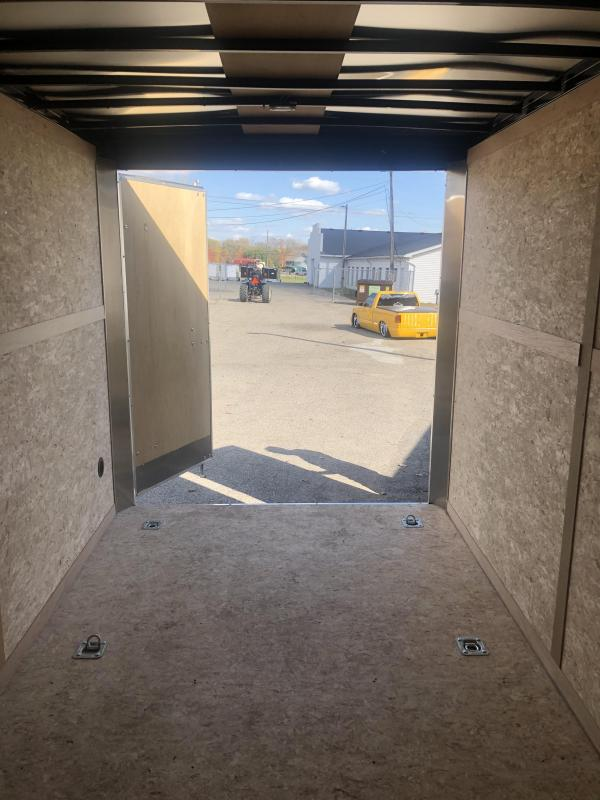 DEMO - 7x14 10K Haulmark Transport Barn Doors - Transport Package 7ft Interior