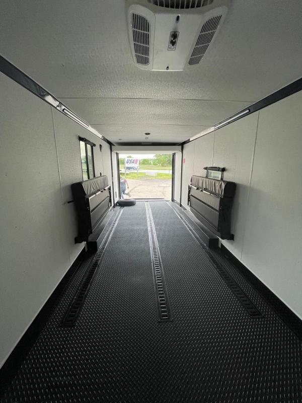 Toy Hauler w/ Living Quarters:8.5 x 30 STEALTH NOMAD 14K Enclosed Car Trailer FK Model