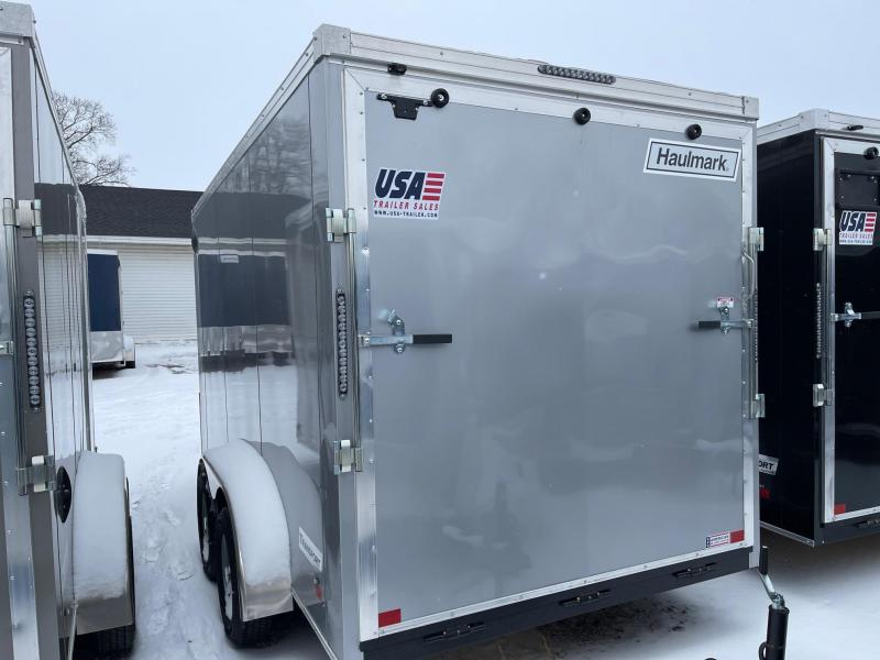 7 x 14  Haulmark Transport - Enclosed Trailer - w/ Ramp Door   7ft Interior UTV Package
