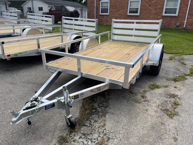2021 H and H Trailer 66x10 Aluminum Rail Side Utility Trailer