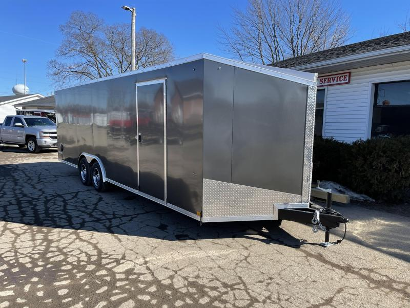 2021  85 X 24   10 K Enclosed Cargo Trailer with Extra Height