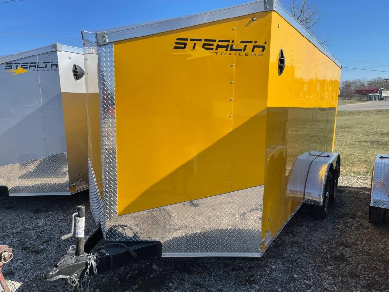 7x14 STEALTH ENCLOSED w/ Ramp Door