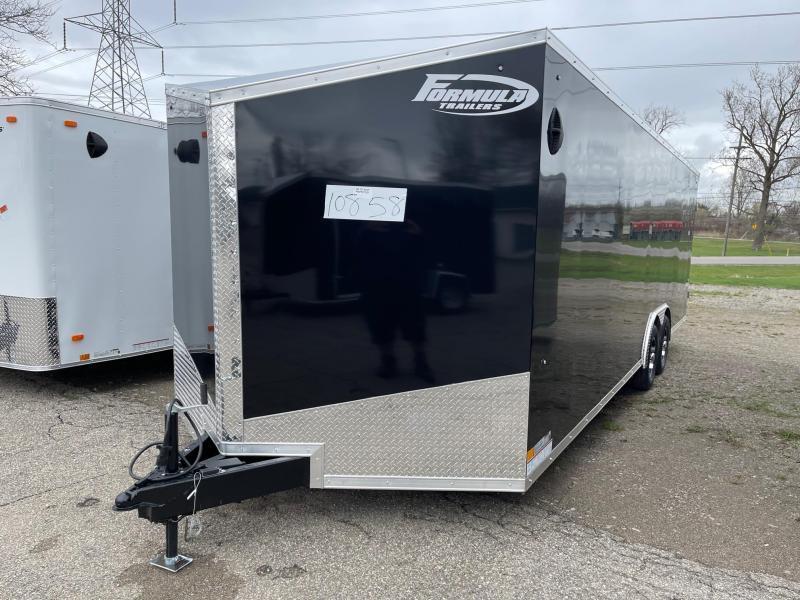 8.5x24 FORMULA Enclosed Car Hauler Trailer (10K)