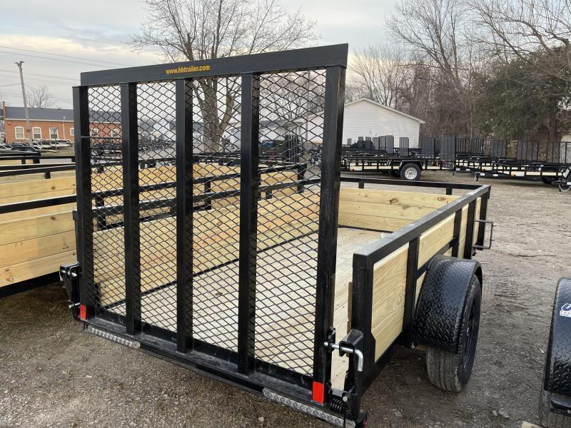 2021 60 x 10 H and H Trailer STEEL WOOD SIDES 3.5K