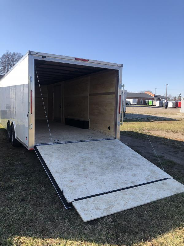 2021  85X20 MTI   7 K Enclosed Cargo Trailer with Extra Height