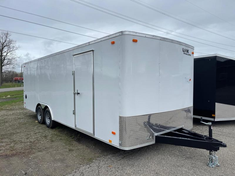8.5x24 LOOK Enclosed Car Hauler Trailer (10K)